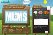 NSPCC: dedicated site for Mother's Day campaign