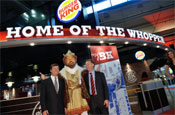 Burger King: Schiphol Airport's restaurant