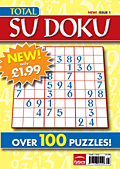 Total Su Doku: Future joins the craze