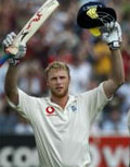 Flintoff: named coolest celebrity