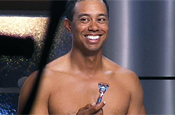 Woods: stars in Gillette campaign