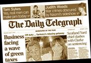 Daily Telegraph: Newspapers have been falling on constant decline