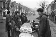 Peter Francis: Teenage mods in parkas, on their Vespa scooters, London 1964