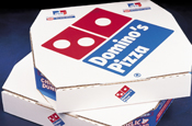 Domino's: opened halal friendly branch in Birmingham