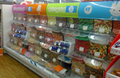 Woolworths: pick'n'mix counter