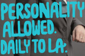 Air New Zealand: personality allowed campaign