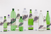 Highland Spring: new 'organic' label design