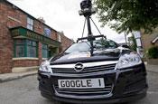 Coronation Street: appearing on Google Street View