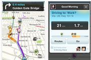 Waze: community-based traffic and navigation app