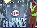 Greenpeace: beaten by Esso