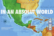 Absolut ad: sparking anger north of the border