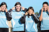 Argentine women's football team: photo OLE