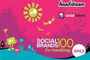 EA: tops Social Brands 100