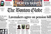 The Boston Globe: goes up for sale