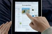 Apple iPad: launched in US stores on Saturday