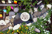 Red Sky crisps: website features roof-top garden