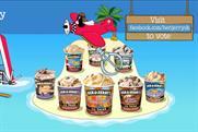 Ben & Jerry's 'Dessert Island' Facebook campaign