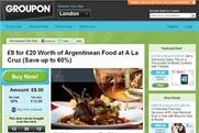 Groupon: tops BR's app chart for the second week running