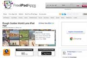 Free branded iPad apps: preferred to paid-for