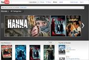 YouTube: launches movie rental service in the UK