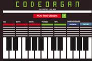 Codeorgan.com: transforms websites into music