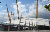 The O2: name change due to clash with Olympics sponsor BT