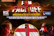Fan Face Off: compares Ashes fans' online activity