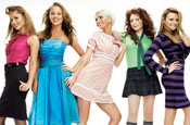 Girls Aloud: to promote Sunsilk