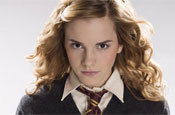 Watson: plays Hermione Granger in Harry Potter