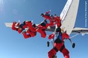 Honda: pulls off live skydive ad on C4