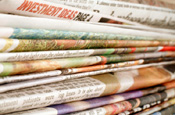 Newspapers: ad share increase