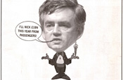 Ryanair ad: Gordon Brown targeted
