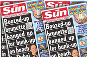 The Sun: exposed the Brits