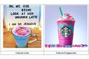 More than one unicorn? Brooklyn coffee shop sues Starbucks over pink Frappuccino