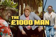 Moneysupermarket.com 'the £1,000 man' by Mother