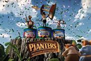 Planters 'tree-athlon' by Being