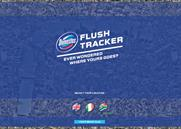 Domestos 'flush tracker' by Lean Mean Fighting Machine