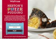 Waitrose 'Heston's prize pudding' by Kitcatt Nohr Alexander Shaw