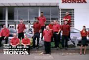 Honda 'Tour of Britain idents' by Wieden & Kennedy London