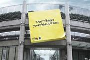 3M Post-it 'don't forget your friends' by Profero