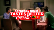 Coca Cola 'Saturday night tastes better with Coca Cola and iTV' by McCann Erickson