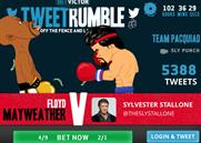 """BetVictor """"TweetRumble"""" by VCCP"""
