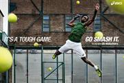 "Asics ""it's a tough game. Go smash it"" by 180 Amsterdam"