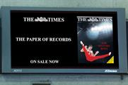 The Times 'the paper of records' by CHI & Partners