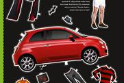"Fiat 500 ""autumn/winter"" by Krow"