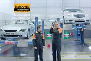 "Halfords Autocentre ""dedicated motoring"" by Mother"