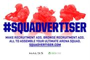 "Halo 5 ""squadvertiser"" by McCann London"