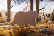 "John Lewis ""the bear and the hare"" by Adam & Eve/DDB"