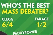"Paddy Power ""mass debater"" by Lucky Generals"