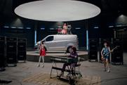 "Ford Transit ""move it, make it, work it, Transit"" by Blue Hive"